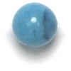Semi-Precious 8mm Round Turquoise Candy Jade